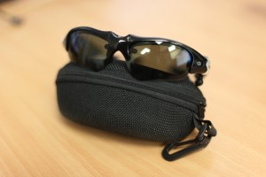 First-person VGA resolution video/photo glasses